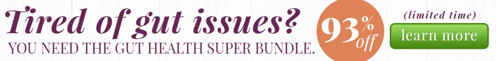Gut Health Super Bundle Banner