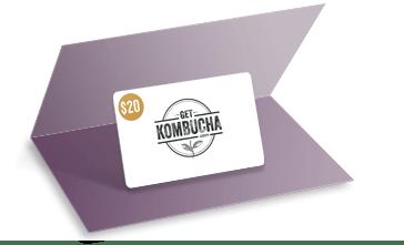 Get Kombucha Gift Card
