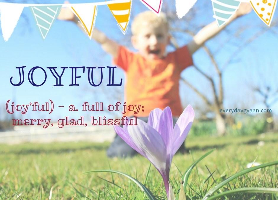 Joyfully Religious #MondayMusings