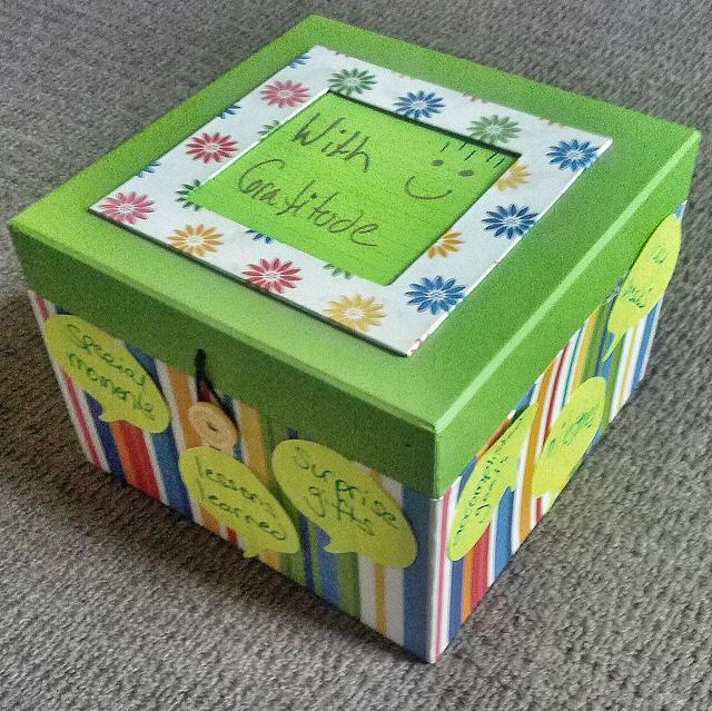 A Gratitude Box