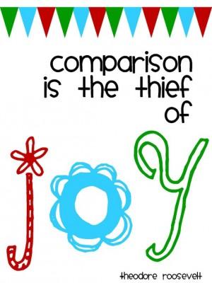Comparison The Thief of Joy