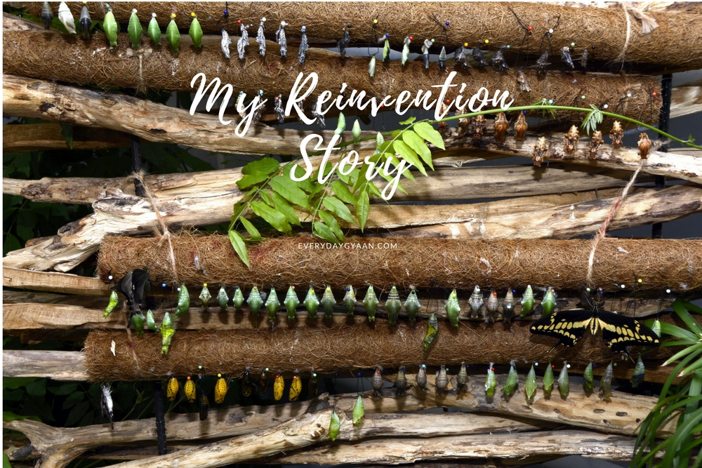 My Reinvention Story #FridayReflections