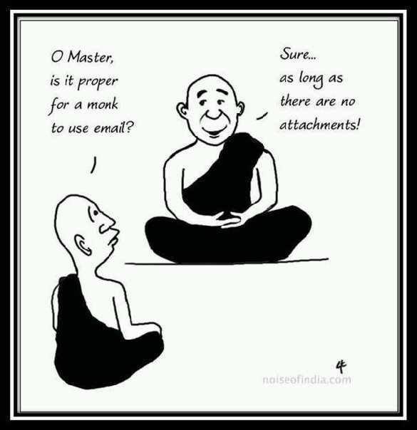 Everyday Gyaan Detachment