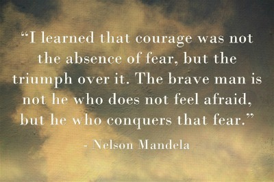 i learned that courage