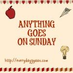 anything goes on sunday
