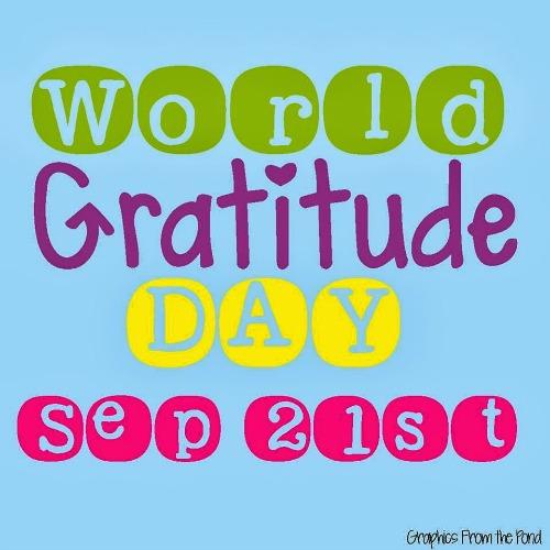 World Gratitude Day 2014