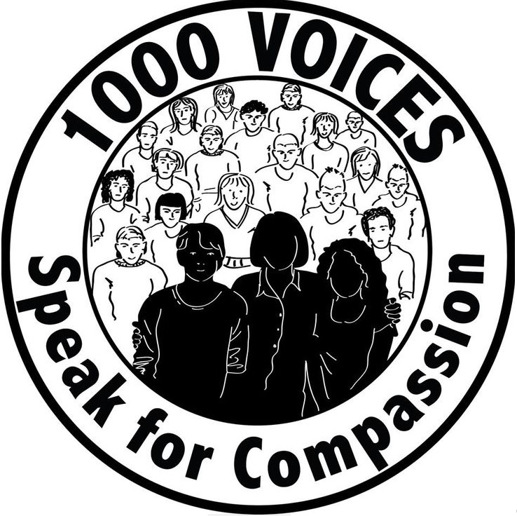 #1000Speak For Compassion