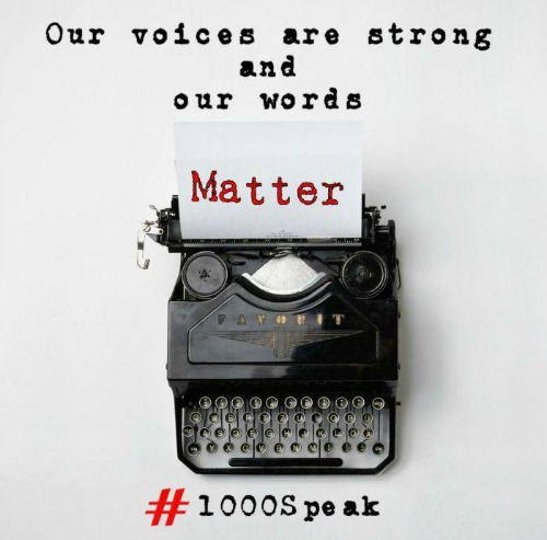 Kindness Wins #1000Speak #FridayReflections