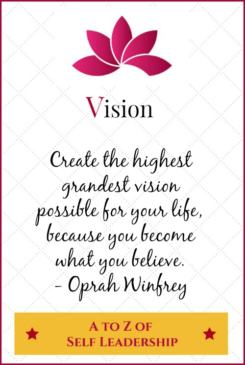 Vision – A to Z of Self Leadership
