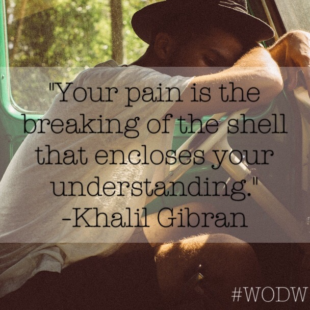Breaking Of The Shell #WODW