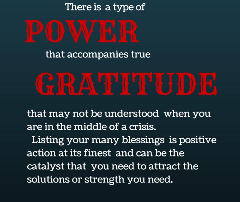 The Power Of Gratitude #GratitudeCircle