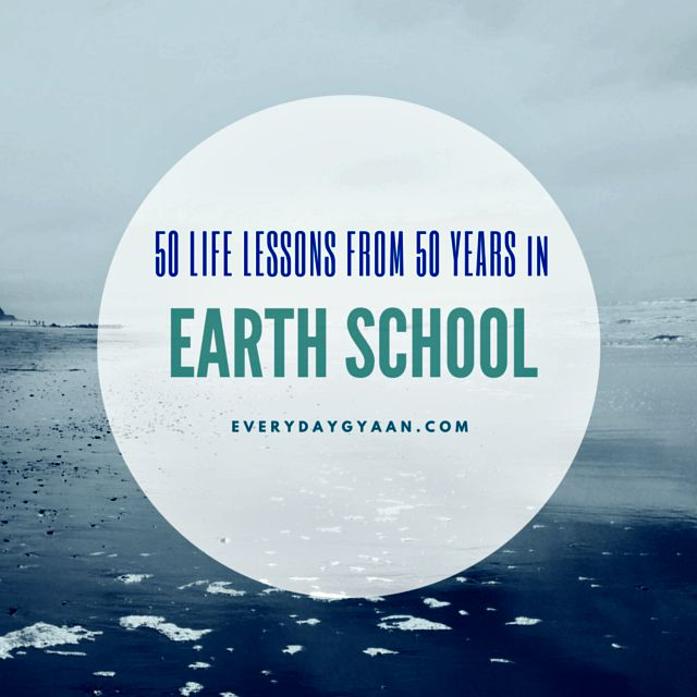 50 life lessons from 50 years
