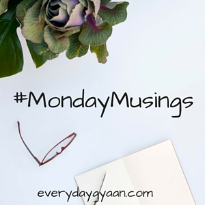 #MondayMusings