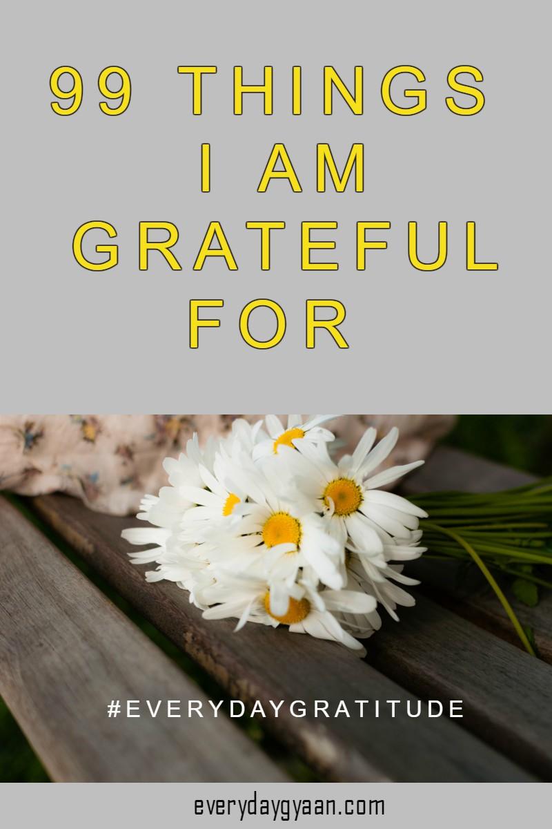 #gratitude #gratitudelist #99lovelist