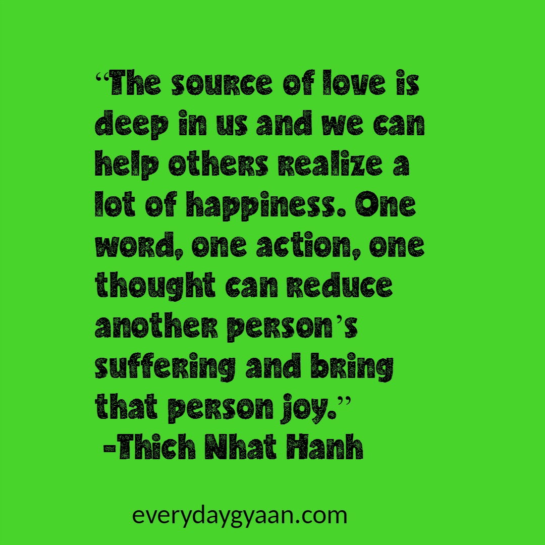 Peace Love Joy Quotes Thich Nhat Hanh Quotes  Celebrating 90 Years Of Wisdom  Everyday