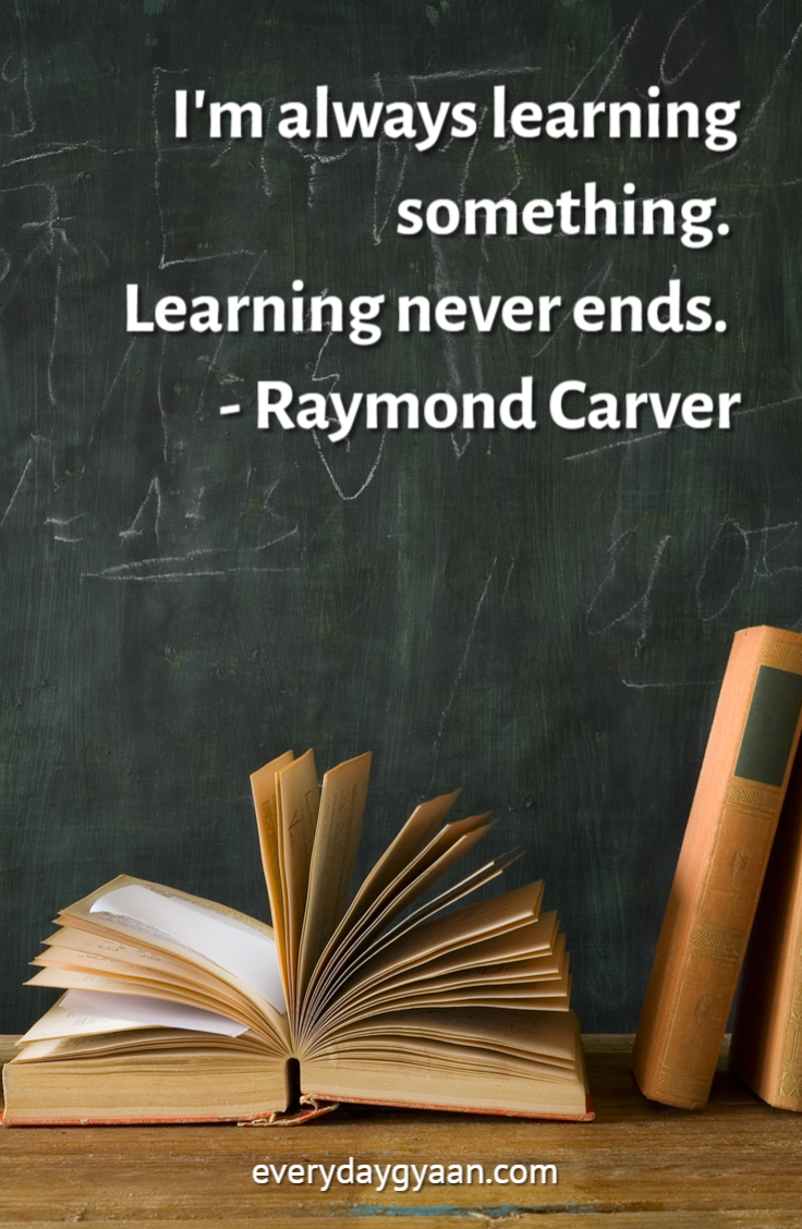 Everyday Gyaan 20 Inspirational Quotes About Learning