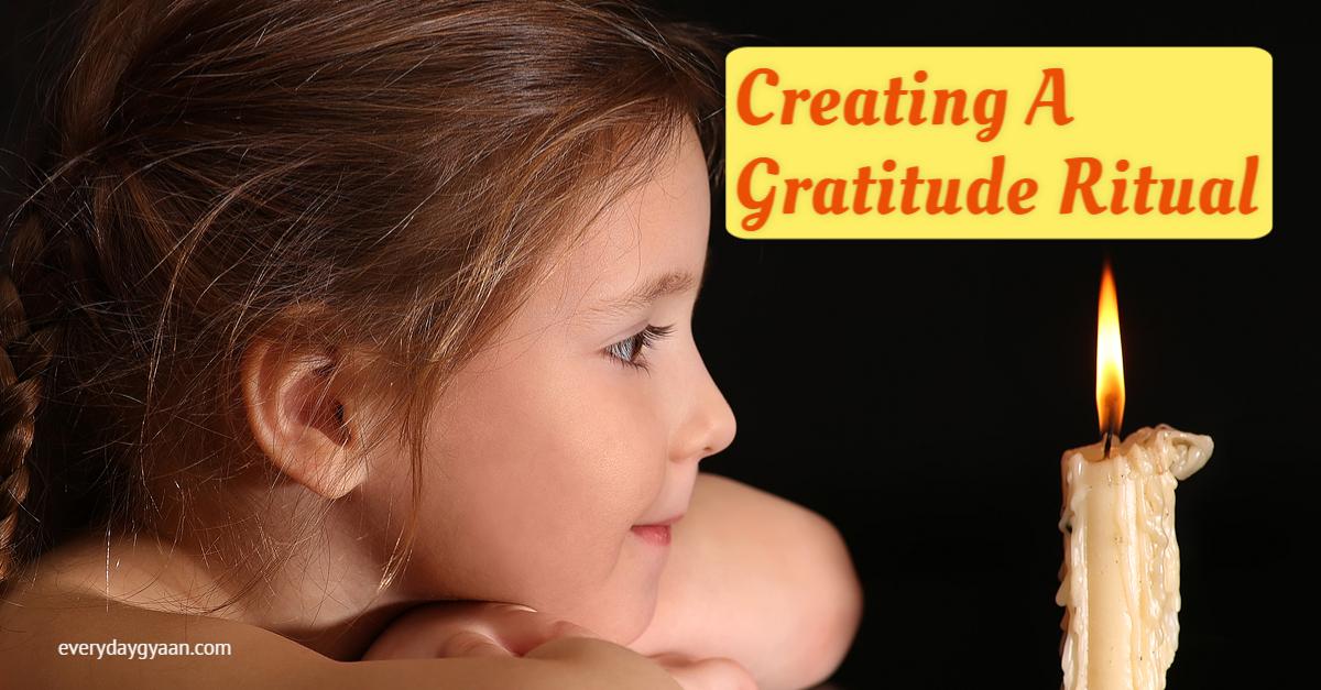 creating a gratitude ritual