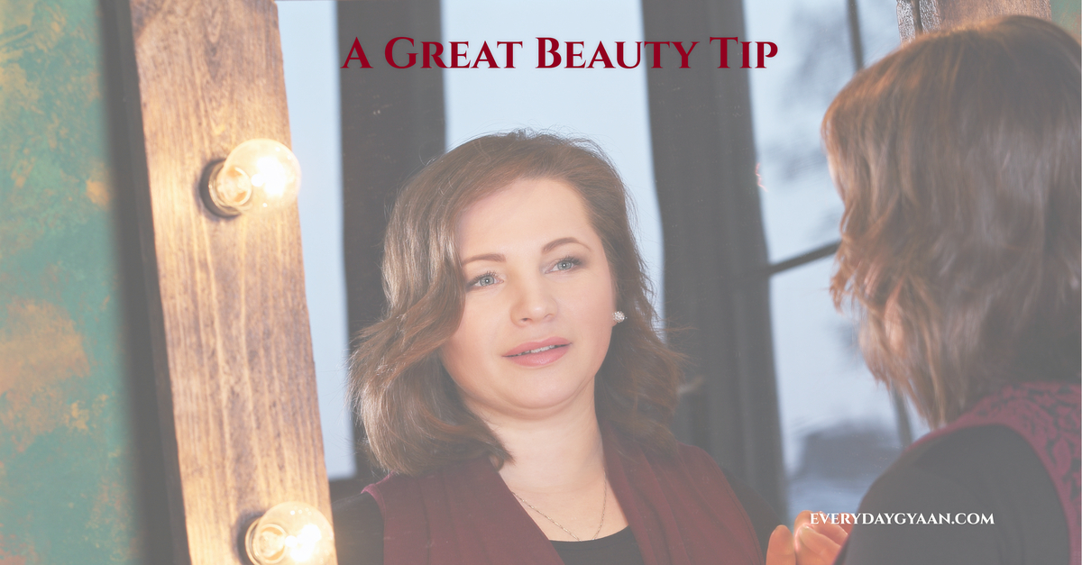a great beauty tip