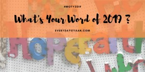 what's your word of 2019