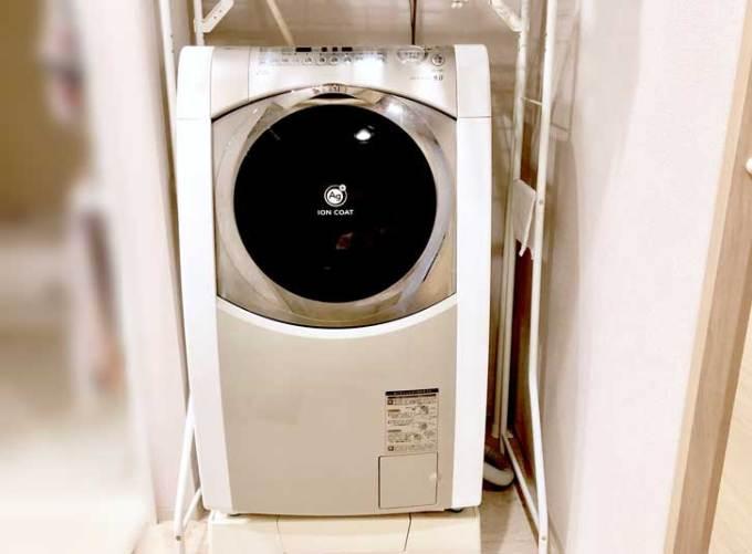 Panasonicの斜めドラム洗濯乾燥機NA-VX9900R-W