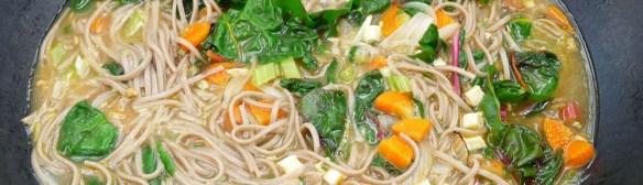 Miso Soup with Veggies Camping Version (c) jfhaugen