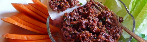 Sundried Tomato Greek Olive Tapenade