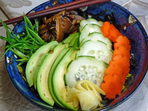 Chirashi Sushi--Sushi in a Bowl (c) jfhaugen