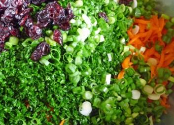 Curried Quinoa Salad Iingredients (c) jfhaugen