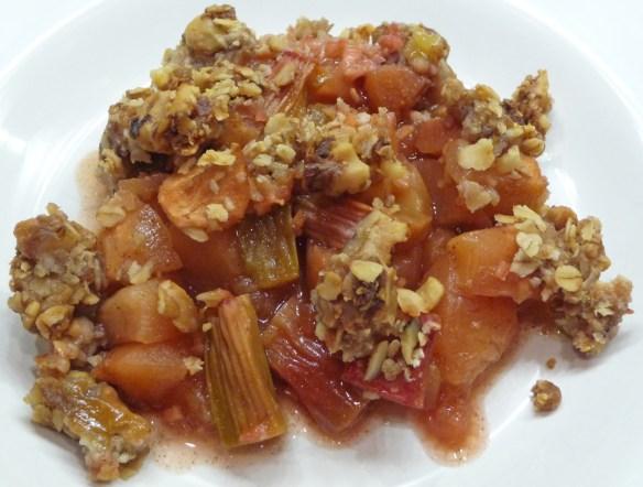 Rhubarb Apple 'n Ginger Crisp (c) jfhaugen