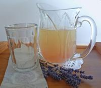 Honey Lemonade Infused with Lavender