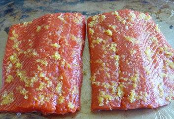 Lemon-Cured Salmon