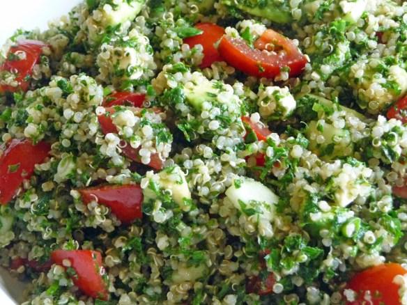 Tabouli Salad w/ Quinoa, Avocado & Feta (c) jfhaugen