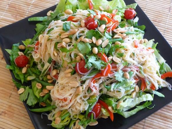 Thai Rice Noodle Salad – Fresh, Crisp, Versatile