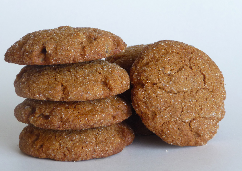 Crispy Ginger Molasses Cookies Everyday Healthy