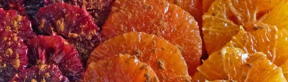 Moroccan Cinnamon Oranges - A Perfect Dessert