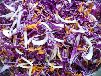 Violet Kraut – Naturally Fermented Purple Cabbage Sauerkraut