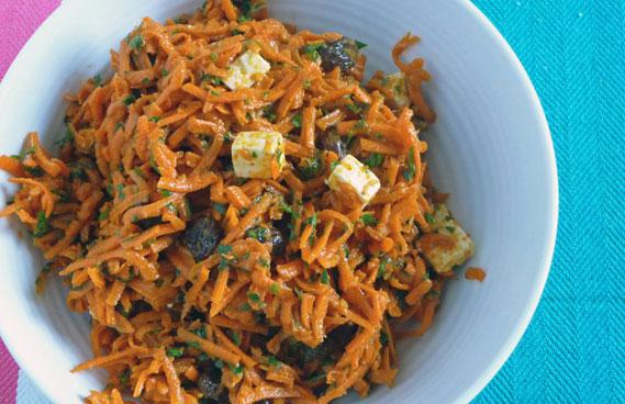 Moroccan Carrot Raisin Salad – The Best Carrot Raisin Salad