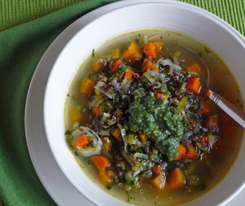 Carrot Top Pesto – Say Yes to Carrot Tops
