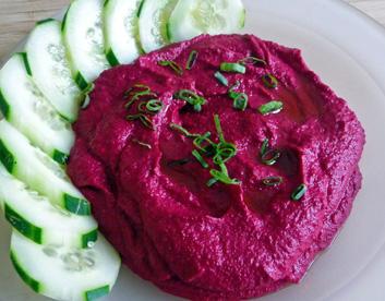 Roasted Beet Hummus – Vibrant, Versatile, Flavorful
