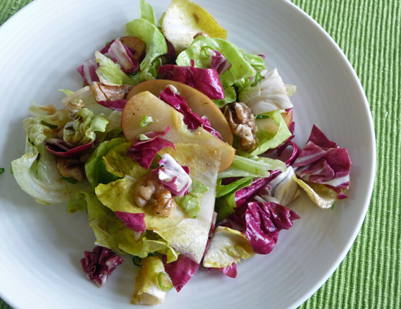 Spring Greens with Mustard Balsamic Vinaigrette –Vibrant Refreshing Salad for Spring