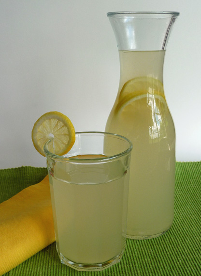 Honey Ginger Lemonade – Fresh Ginger Tea, Lemon Juice and a Taste of Honey