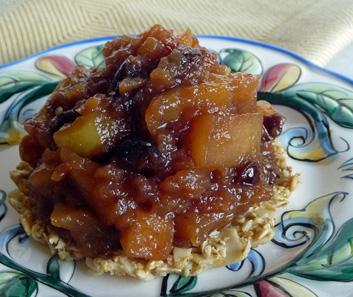 Maple Apple Tartlets – Chunky Apple Jam Atop Gluten-Free Oat and Almond Crust