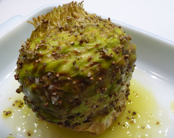 Celeriac Roasted Whole with Coriander & Olive Oil
