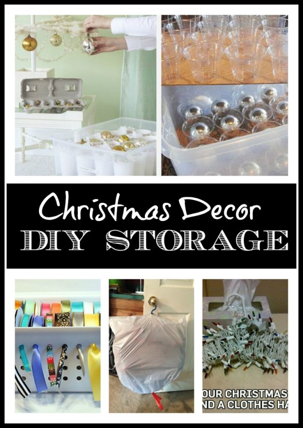 DIY Ideas for Storing Christmas Decorations at The Everyday Home