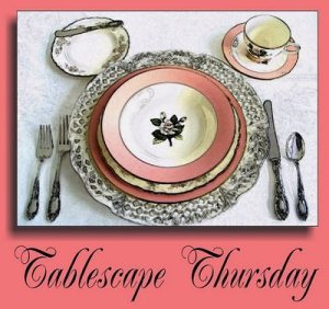 Tablescape Thursday – Formal Easter Table