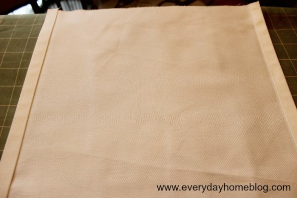 No-Sew Decorating at The Everyday Home