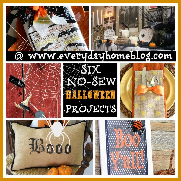 No Sew Halloween Projects at The Everyday Home