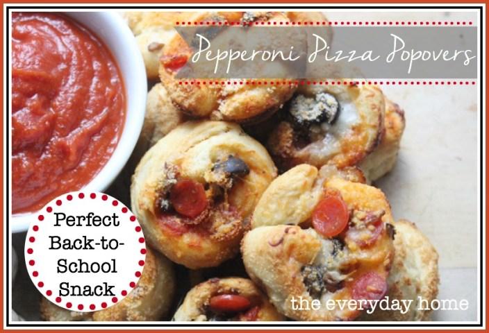 Pepperoni Pizza Popovers