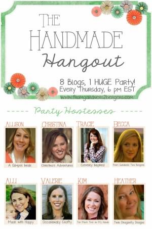 handmade hangout- logo with hostesses FG2B
