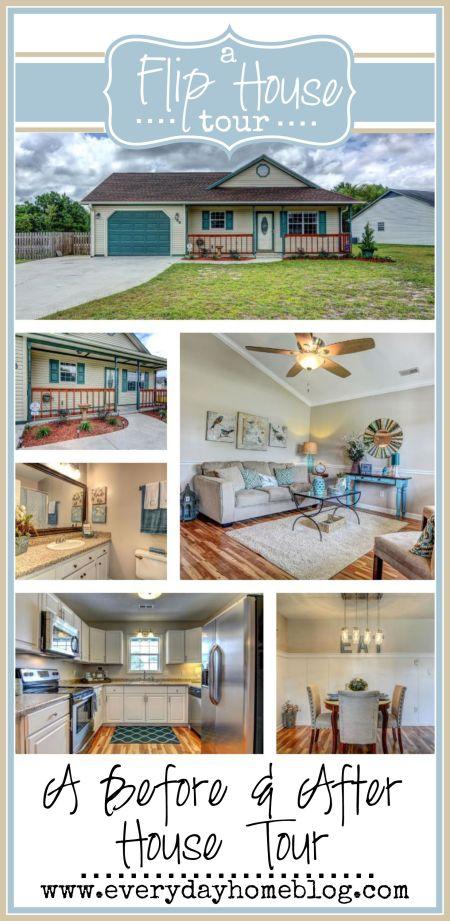 A Before & After Flip House Tour | The Everyday Home |  www.everydayhomeblog.com